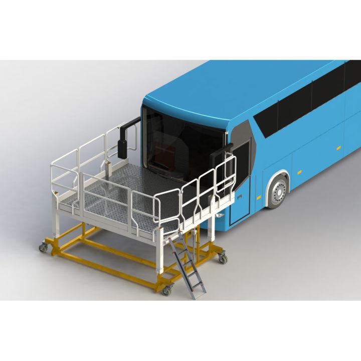 Platformy specjalne do autobusów faraone